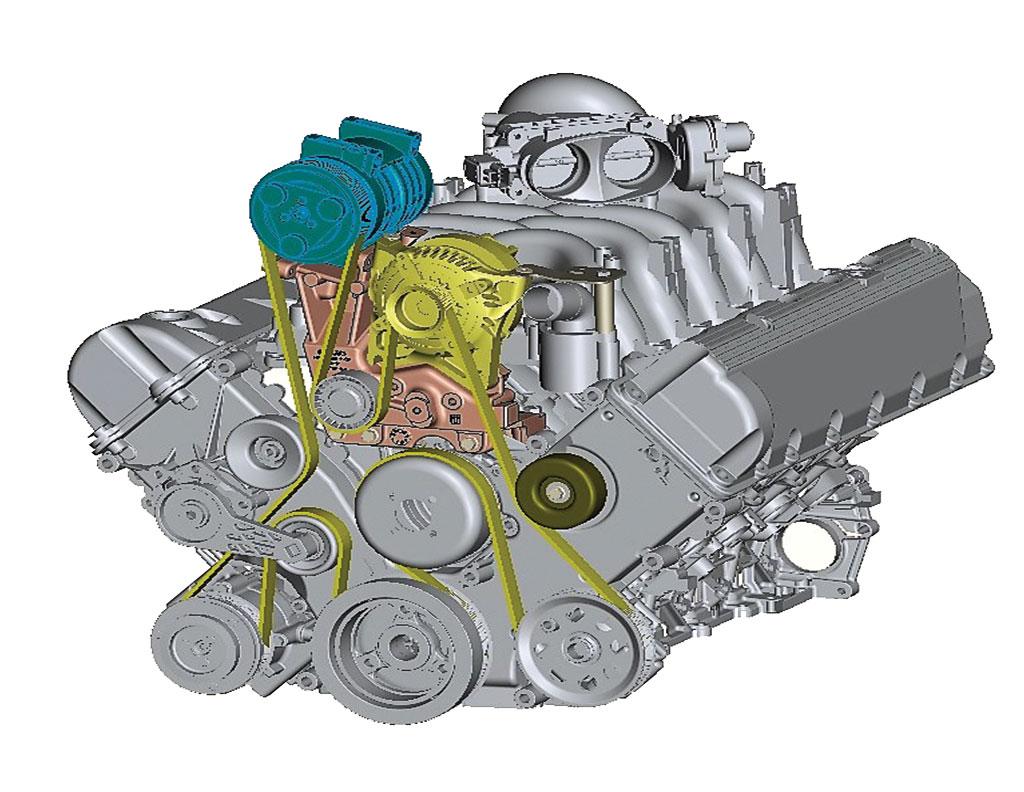 Ford E-Series 6.8L V10 Compressor Mount Kit